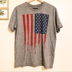 Boy's graphic Tee short sleeves in grey Sz L